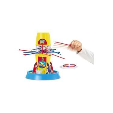 Imagem de Jogo Tira Pega Varetas Luccas Neto Bolhas De Sabão Menino Menina Raciocínio Equilíbrio Brinquedo Infantil Elka