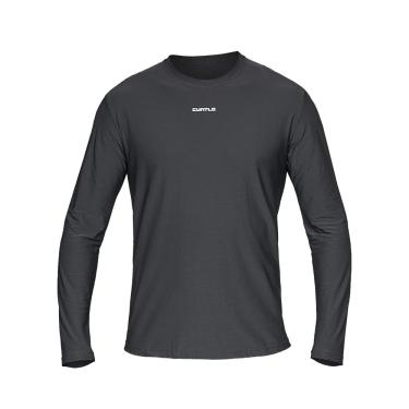 Camiseta Active Fresh Ml - Masculino Curtlo GGG chumbo