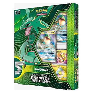 Imagem de 2 Box Pokémon Deck Arena De Batalha Sol e Lua Ultra Necrozma-GX Vs Rayquaza-GX Copag (=^.^=) SUIKA (=^.^=)