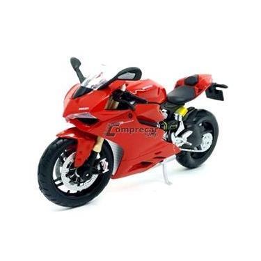 Imagem de Miniatura Ducati 1199 Panigale Vermelho Maisto 1/12