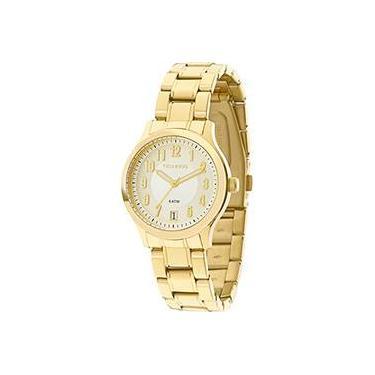 Relógio de Pulso Feminino Technos Calendário Shoptime   Joalheria ... ad4798199d