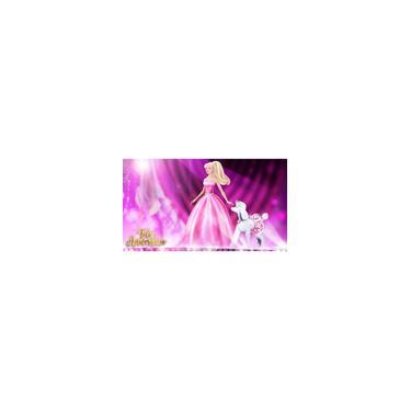 Imagem de Painel De Festa Infantil Em Tecido Tema Barbie 4