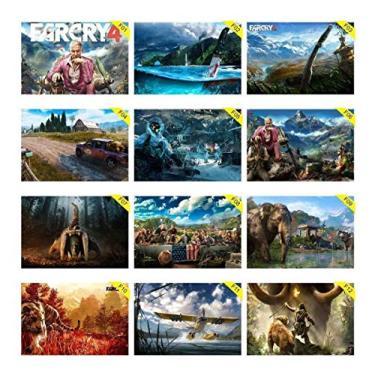 Kit 10 Placas Decorativas 30x 0cm Farcry Pc Games