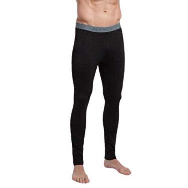 Calça Térmica Segunda Pele Compressão Kanxa Masculina Cor:Preto;Tamanho:GG
