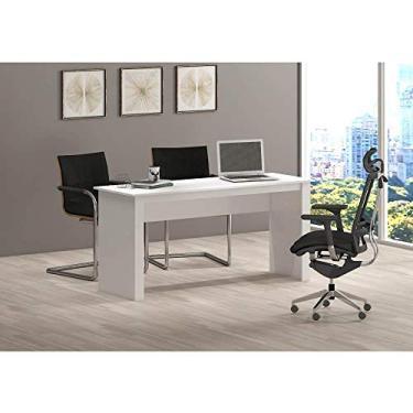 Mesa de Escritório Badesh Branca