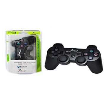 Controle Dualshock PS3 sem Fio KP-4021 KP-4021 KNUP