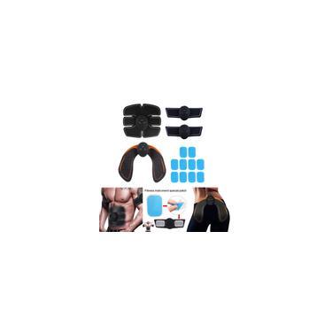 Elétrico Masculino Feminino Muscular Estimulante Toner Cinto Abs Braço Perna Ab Cinto Kit