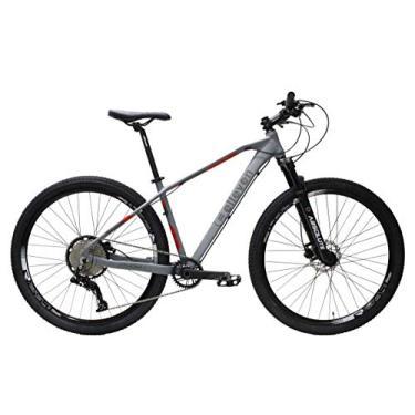 Imagem de Bicicleta Aro 29 Elleven Athom 12 Marchas Absolute (Cinza, 19)