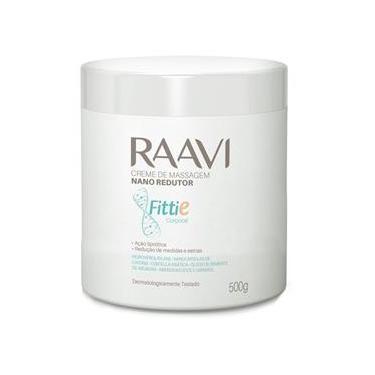 Imagem de Creme Massagem Nano Redutor Fittie 500g Raavi