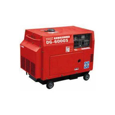Gerador De Energia Diesel Dg6000 S