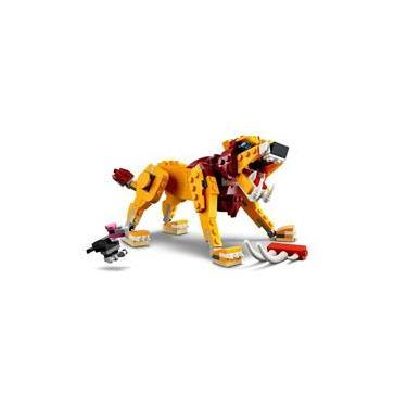 Imagem de LEGO Creator - 3 em 1 Leão Selvagem - 224 peças - 31112