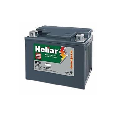 Bateria Heliar Htz5 125 150 Cg titan biz nxr bros fan xre300