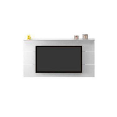 Painel Slim Ideal Para Tv De Até 52 Polegadas Em M Branco Artely