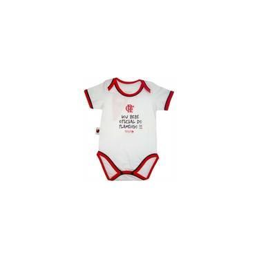 Body Bebê Oficial Meia Malha Unissex Flamengo Reve Dor 5159bcc48f498