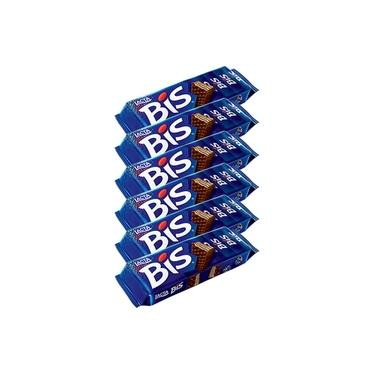Kit 6 Chocolates Bis Ao Leite c/20 - Lacta