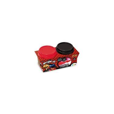 Imagem de Massinha Miraculous LadyBug Kit com 2 Potes - FUN