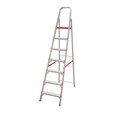 Imagem de Escada Dobrável Em Alumínio 7 Degraus Botafogo Esc0066