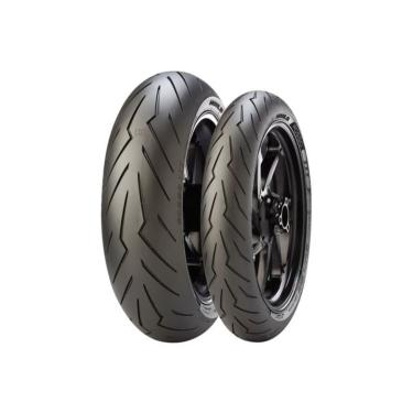 Kit De Pneus 180/55-17 + 120/70-17 Pirelli Diablo Rosso 3