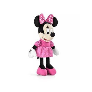Imagem de Pelúcia Minnie com som 33 centímetros Turma do Mickey