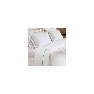 Imagem de Colcha Branca Matelada 250 fios Safira Solteiro 160 x 240cm