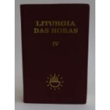 Liturgia Das Horas - Volume 4 - Capa Comum - 9788532613738