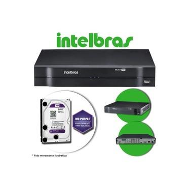 Imagem de DVR Stand Alone Multi HD Intelbras MHDX-1108 8 Canais + HD 1TB WD Purple de CFTV