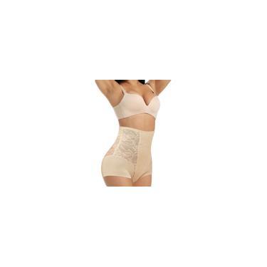 Calças de renda feminina pós-parto de cintura alta formato abdominal Calças de quadril