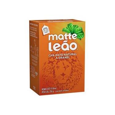 Chá mate natural a granel - com 250 grs - Matte Leão