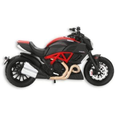 Imagem de Ducati Diavel Carbon Edition Modelo da Maisto 1: 18th Scale Black