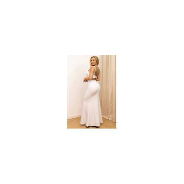 Imagem de Vestido Miss Misses decote V Lurex Dourado