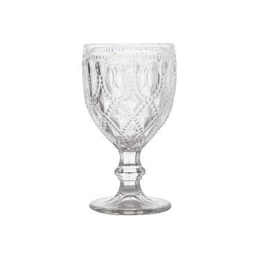 Conjunto com 6 Taças Bon Gourmet para Água de Vidro Diamond 290ml