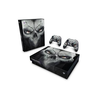Skin Adesivo para Xbox One X - Darksiders 2 Deathinitive Edition