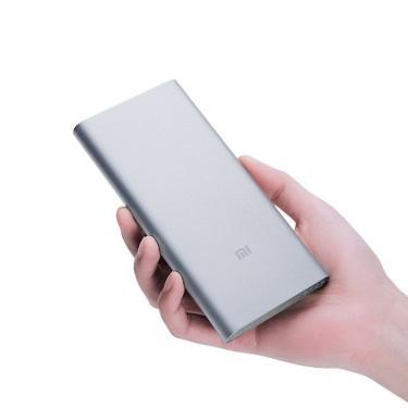 Carregador Portátil Xiaomi Mi Power Bank 2S 10000Mah Cinza