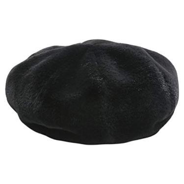 VALICLUD Chapéu feminino de combinada quente boina chique da moda chapéu de pintor feminino chapéu