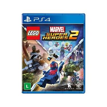 jogo - Lego Marvel Super Heroes 2 - PS4