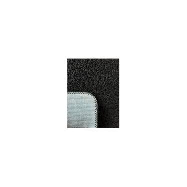 Imagem de Kit 2 Jogos de Tapetes Banheiro Relevo 3 Peças Preto Oasis