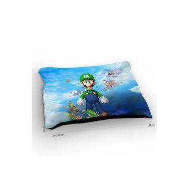 Colchão Para Pet Super Mario Luigi Standing