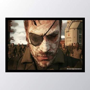 Quadro com moldura Metal Gear Solid V The_006