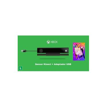 Sensor Kinect Xbox One S / Xbox One X / Pc + Just Dance 2020