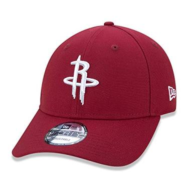 BONE 9FORTY NBA HOUSTON ROCKETS CORE EMBRO SNAPBACK VERMELHO
