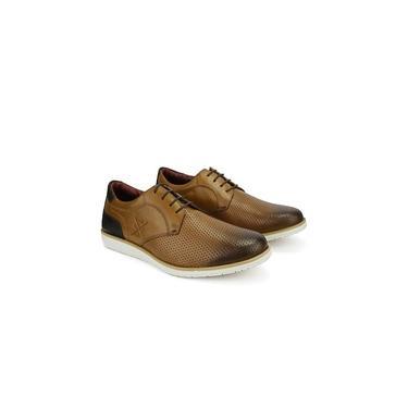 Sapato Masculino Brogue Derby Comfort Castor 605 Tamanho:38