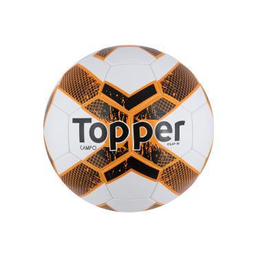 Bola de Futebol de Campo Topper Cup III - BRANCO LARANJA Topper 34185d5aff9ce