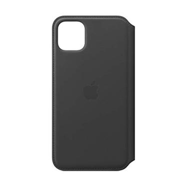 Capa Iphone 11 Pro Max Apple Folio, Couro Preto