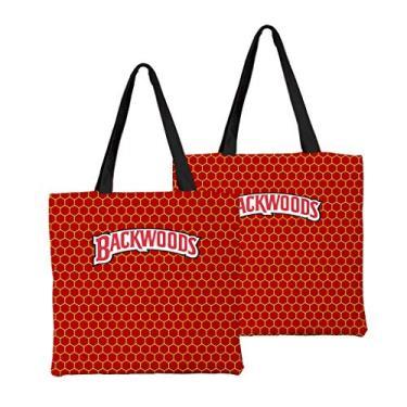 Bolsa de ombro feminina de alta capacidade, bolsa de ombro de lona, bolsa para laptop, moda urbana combinando, Macio, 5, One_Size