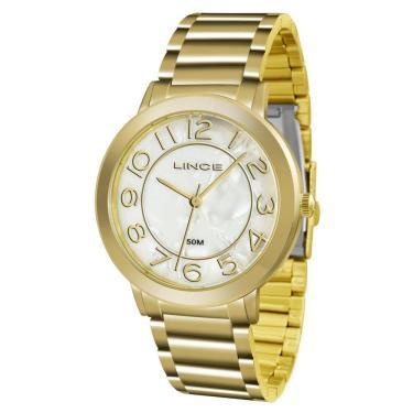 14d19f2f0 Relógio Feminino Lince Analógico Lrgh046l-b2kx - Dourado