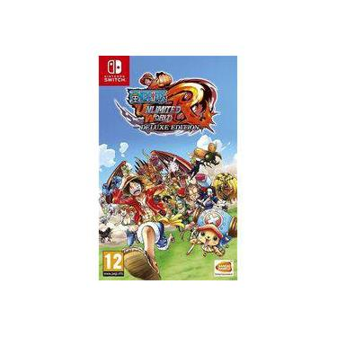 One Piece Unlimited World Red Deluxe Edition Switch Nintendo