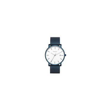 7afe0d3a82d Relógio Skagen Masculino Ref  Skw6326 4bn Slim Azul