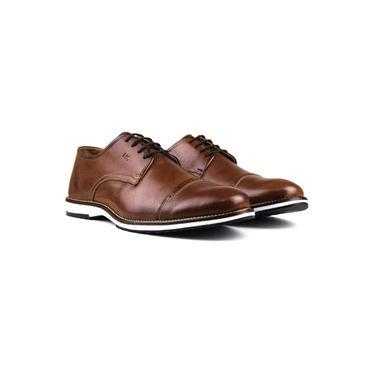 Sapato Masculino Brogue Derby Comfort Castor 8005 Tamanho:42