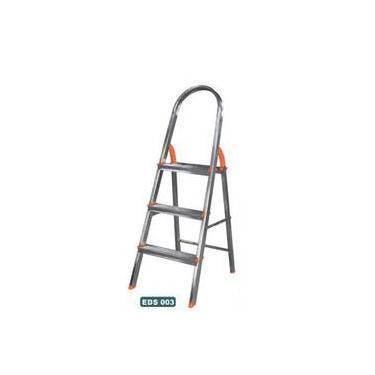 Escada Doméstica Aluminio Abrir 03 Degraus Agata