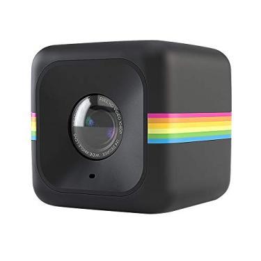 Câmera de Ação Full HD, POLAROID, POLCUBELSBK, Preta
